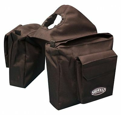 BROWN Heavy Nylon Western Saddle Horn Bag by Showman! NEW HORSE TACK!!