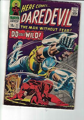 Marvel Comic Daredevil #23 Dec 1966
