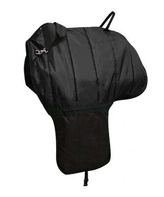 Showman BLACK Heavy Quilted Nylon Western Saddle Carrier! NEW HORSE TACK!