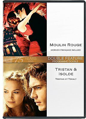 Moulin Rouge (Nicole Kidman) + Tristan & Isolde (James Franco) *New Dvd*