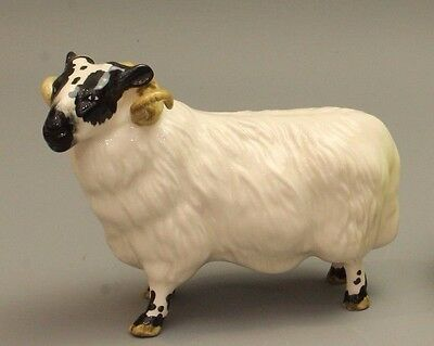Vintage Collectable - Beswick Balck Faced Ram- Perfect Condition