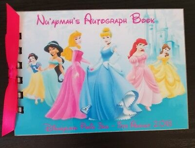 Disney autograph books