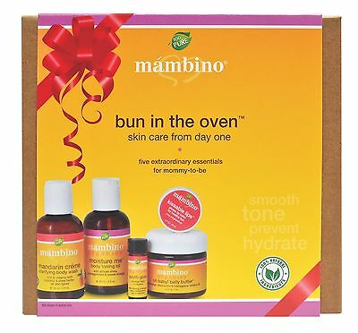 Mambino Organics: Bun In The Oven Kit, 5 piece