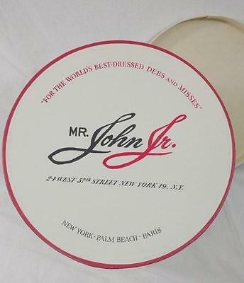 Vintage Mr John Jr Hat Box