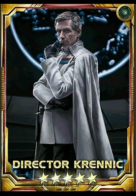 Director Krennic 5* Base Star Wars Force Collection Guide to Obtain