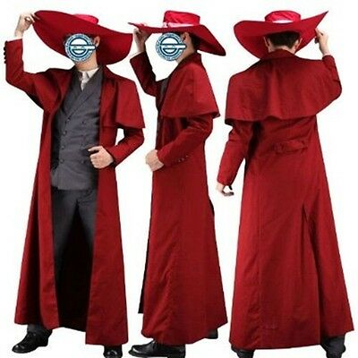 Hellsing Alucard Outfit Vampire Hunter Cosplay Costume 1st