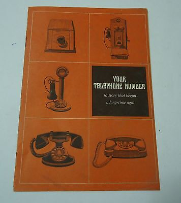 Ohio Bell Booklet Your Telephone Number History Future Vintage