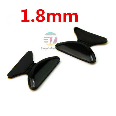 5 Pairs Silicon Anti-Slip Stick On Nose Pads for Eyeglass Sunglass Glasses Lots