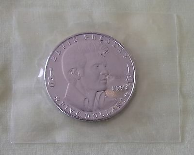 Elvis Presley $5 Commemorative Coin the Republic of the Marshall Islands 1993