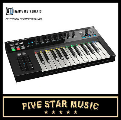 Native Instruments Komplete Kontrol Keyboard Ni 25 Note Midi Controller Kks New