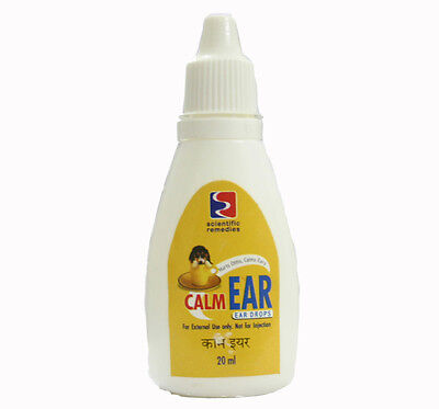 Dog Calm Ear Drops 20ML, anti bacterial anti fungal clean ear anesthetic care