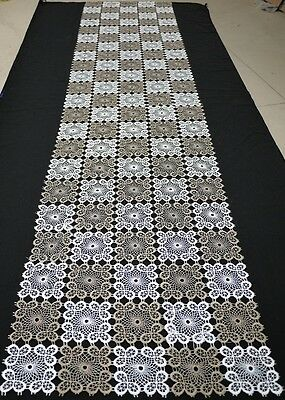 Handmade Long Lace Table Runner Vinage Home Decoration 40cm x 180cm