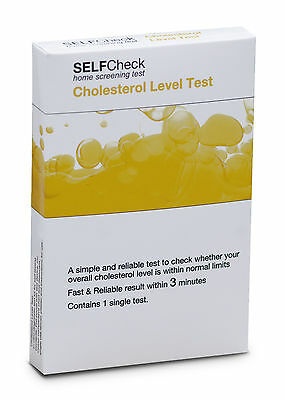 SELFCheck Cholesterol Level Test