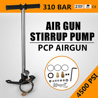 Air Gun Rifle Filling Pump Stirrup Pump 4500Psi Pistols 3 Stage Pcp 1/8 Bsp