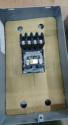 Square D 8903LG40 4 Pole Lighting Contactor NEW