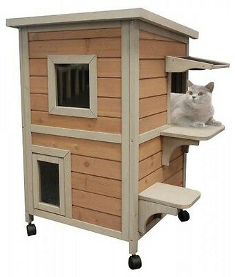 CHATTERIE POUR CHAT-MAISON POUR CHAT-NICHE POUR CHAT ''CAT HOME'' Réf AS2585