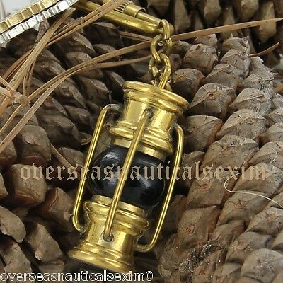 Brass lantern Key Chain- collectible Marine Nautical Key Ring maritime nautical