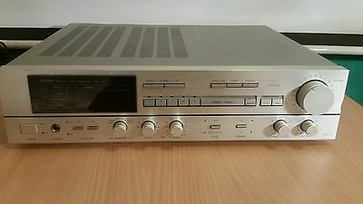 Denon DRA-350 silber Stereo-Receiver  Amplificateur Poweramp int. shipping