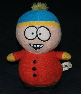 "Comedy Central SOUTH PARK Cartman PLUSH Stuffed TV CHARACTER Doll TOY 7"" 2008"