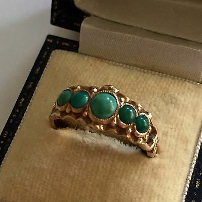 Antique Victorian Turquoise Ring