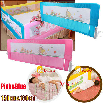 Child Baby Toddler Safety Guard Bed Rail Protection Folding Bedrail 150 & 180CM