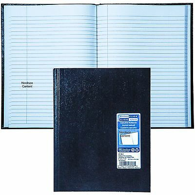 "Blueline A7.BLK Executive Journal Notebook, 9-1/4 x 7-1/4"", 150 Pages"