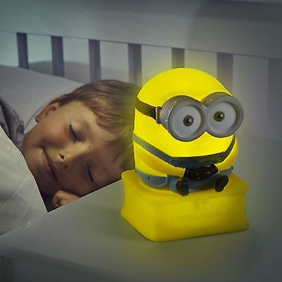 Minions Go Glow Buddy Night Light and Torch 2 in 1 GO GLOW TORCH LIGHT
