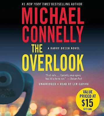 THE OVERLOOK (A Harry Bosch Novel) unabridged audio CD by MICHAEL CONNELLY