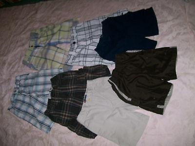 Lot OF 7 BOY'S SUMMER SHORTS SIZE 5/6/7