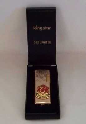 Vintage Nib Kingstar Tanqueray Gas Lighter