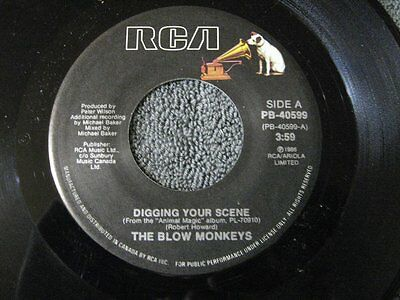 The Blow Monkeys digging your scene - 45 Record Vinyl Album 7""