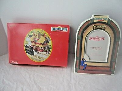 """Thomas the Train  Shining Time Station, up to 3 1/2"""" X 5"""" Picture Frame,New"""
