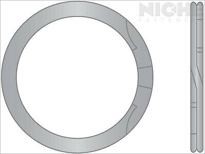 Spiral Retaining Ring Internal HD 1.023 Stainless Steel (15 Pieces)