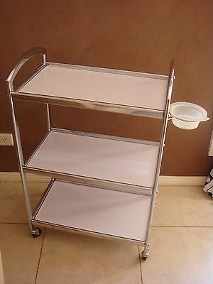 Large Professional Salon Beauty Spa Hairdresser Hair WaxingTrolley Furniture