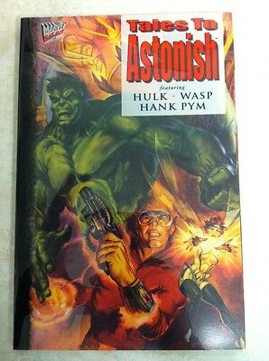 Tales To Astonish Vol 3 #1 Acetate Cover Feat: Hulk Wasp Pym Marvel (1994) NM/MT