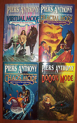 Lot of 4 Paperbacks by Piers Anthony