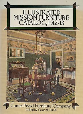 Mission Arts & Crafts Come-Packt Furniture 1912-13 Catalog Reprint / Book