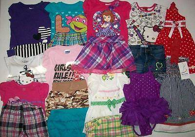 Baby Girl Size 24 Months  2T Spring Summer Clothes Lot
