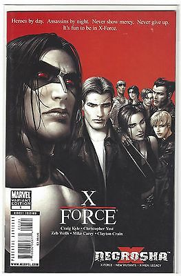 X-FORCE Necrosha 1 X-23 Lost Boys HOMAGE Variant Cover 1st Print NM