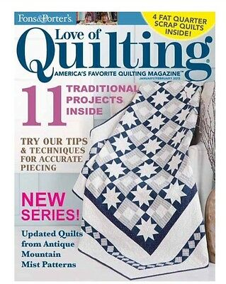 Fons & Porter's Love of Quilting - January/February, 2015 Back Issue
