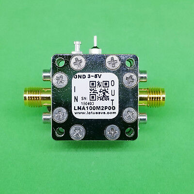 Amplifier LNA Module 100MHz to 2.0GHz with Ultra Low Noise Figure 0.45dB