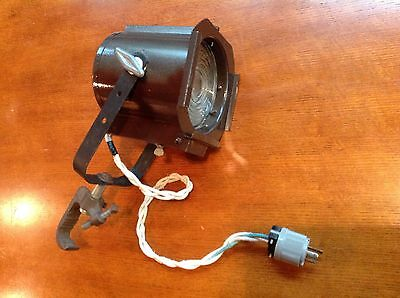 "Vintage Industrial 6"" Fresnel 500 Watt Stage Light E-31501 Great Condition"