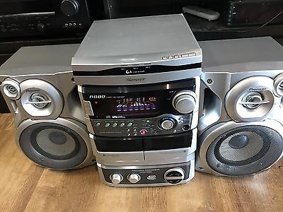Pioneer XR-A880 3-disc stereo cd cassette deck receiver
