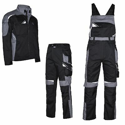Work Trousers Pants Jacket Professional Clothing Black Grey Protective New