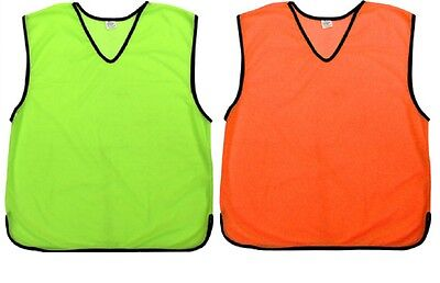 Sports Soccer/Football/NRL Training Mesh Bibs Aids OZ Seller