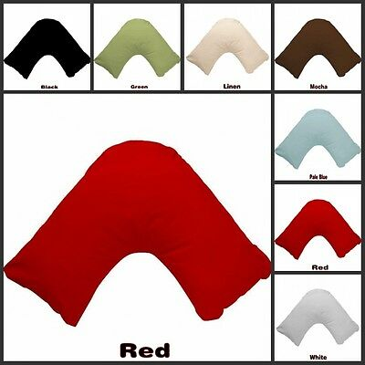 Multi Color V Shape / Tri / Boomerang Pillowcase 280TC Poly Cotton Free Postage