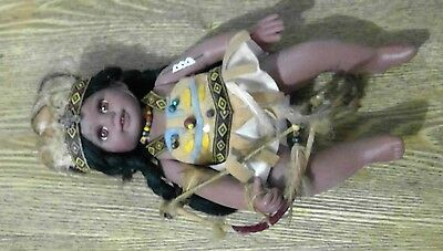 American Indian Baby Doll Toy Lifelike Dolls Traditional 20cm (#42)