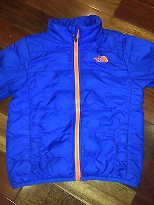 The North Face Boys Down Jacket Blue Size XS