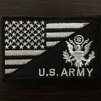 U.S. ARMY American Flag USA Military Tactical Morale Badge Subuded Cap OPS Patch