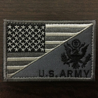 U.S. ARMY American Flag USA Military Tactical Morale Badge Subuded Combat Patch